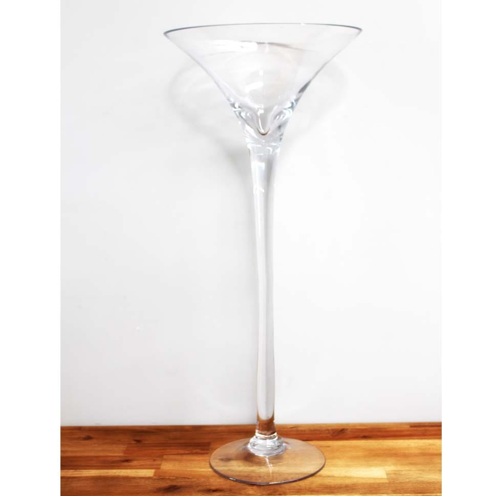 Martini Vase Tall Dobsons Marquee Party Hire