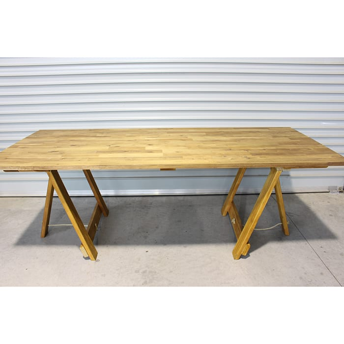 Wooden Trestle Table Dobsons Marquee Amp Party Hire