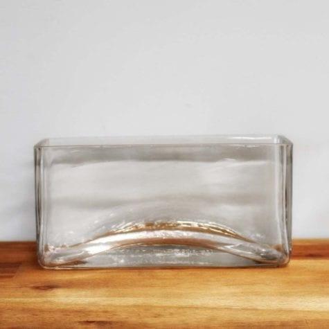 Short Rectangle Vase
