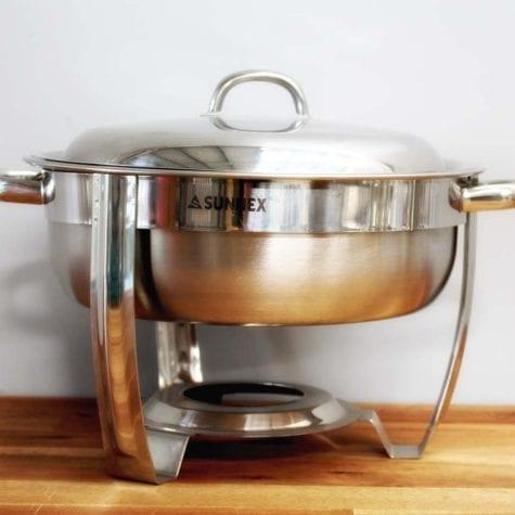 Round Chaffing Dish