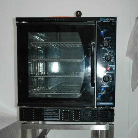 G32 turbofan gas oven large capacity