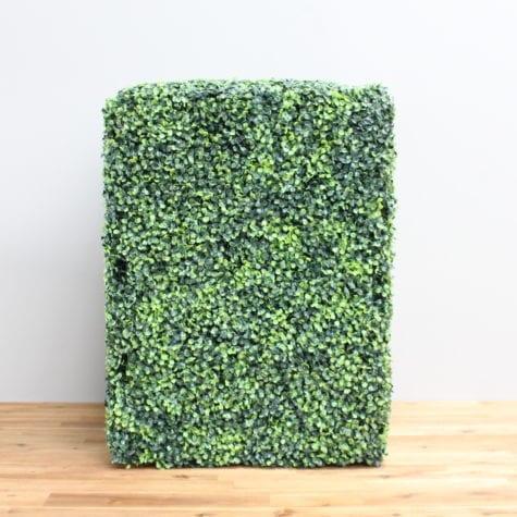 artificial box hedge column