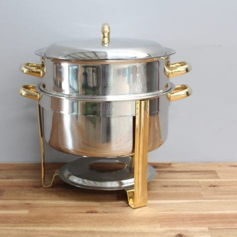 Stainless Steel double boiler soup urn