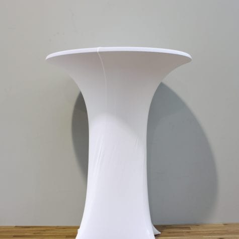 Lycra Bar Leaner Cover for your wedding or event decoration