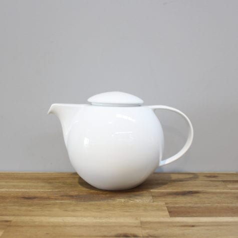 white hire Ceramic Teapot