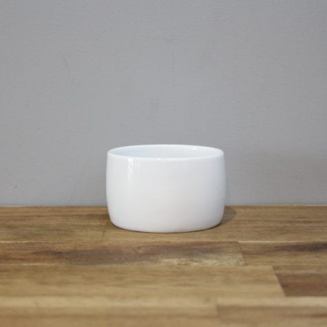 white hire ceramic Sugar Bowl