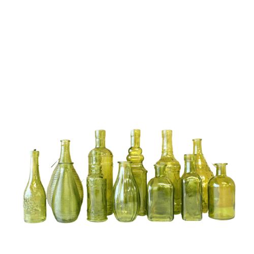 bottle selection green